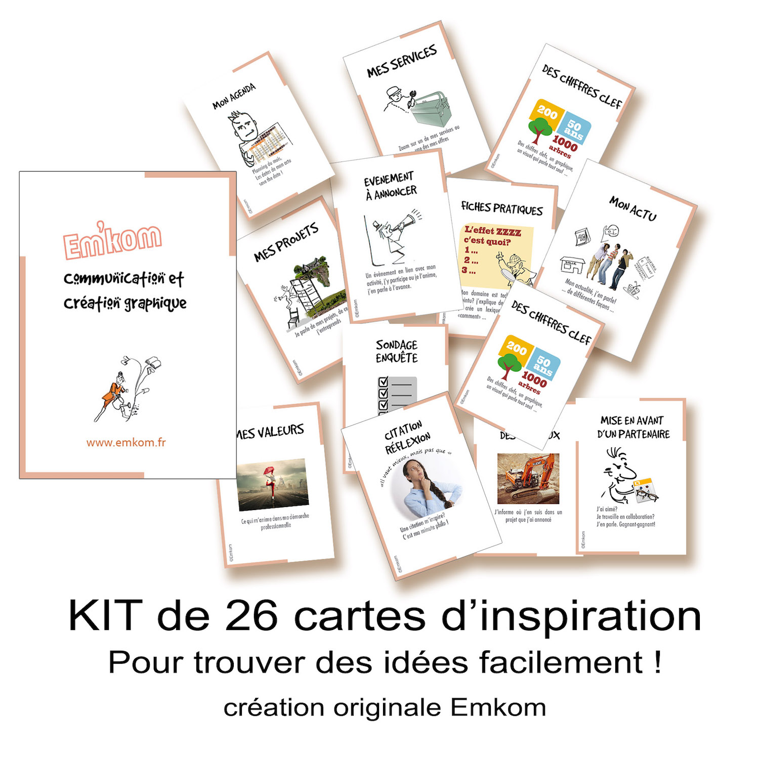 Cartes Newsletters Emkom